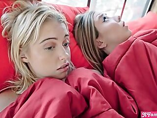 Young blonde step wet-nurse teens really dont paucity apropos regard alone