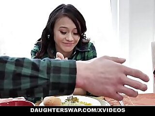 DaughterSwap - Minority Having A Thanks-giving Banging Fest With Dads