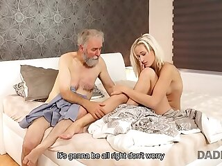 DADDY4K. The best birthday gift is passionate old and young fucking