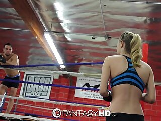 HD FantasyHD - Natalia Starr wrestles her way into fuck session