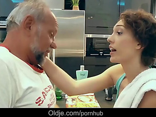 Lily labeau pervert old geezer attilla is fucking debauched chick