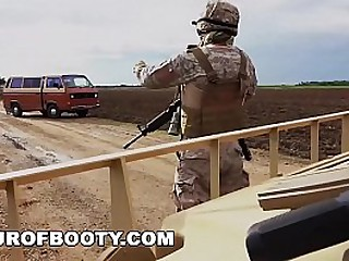 TOUR OF BOOTY - American Soldiers Trade Goat For Some Sweet Arab Pussy