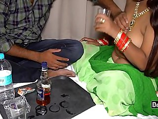 Desi Hot Randi Fucking & Drinking On Farm House